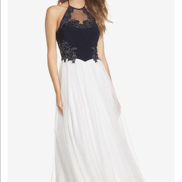 Blondie Nites Dresses | Black And White Prom Dress | Poshmark